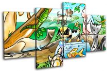 Animals Pets For Kids Room - 13-2135(00B)-MP04-LO